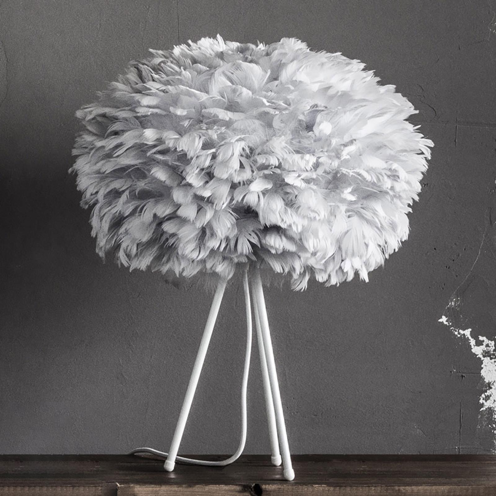 Skärm ljusgrå – bordslampa Eos medium