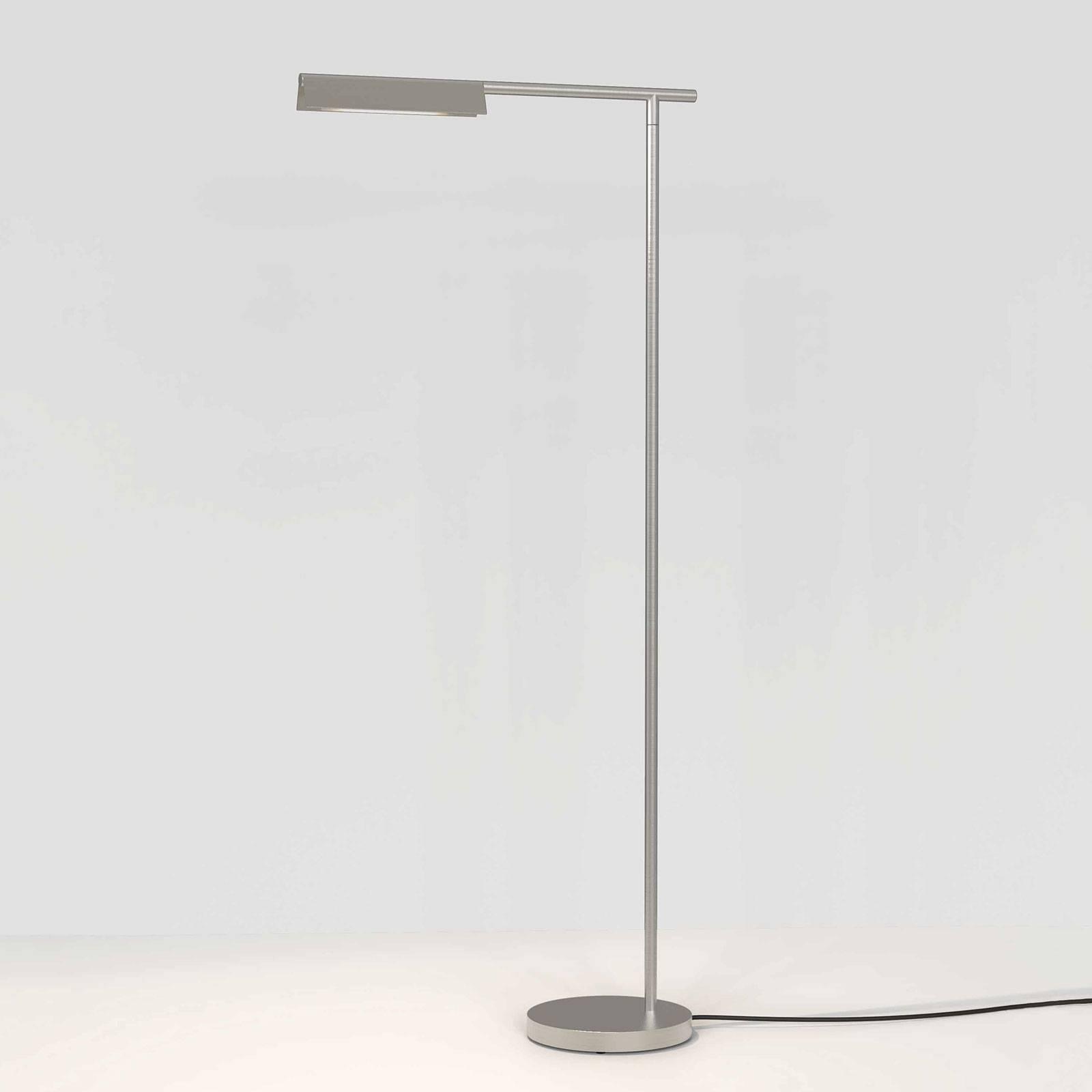 Astro Fold lampadaire LED nickel mat