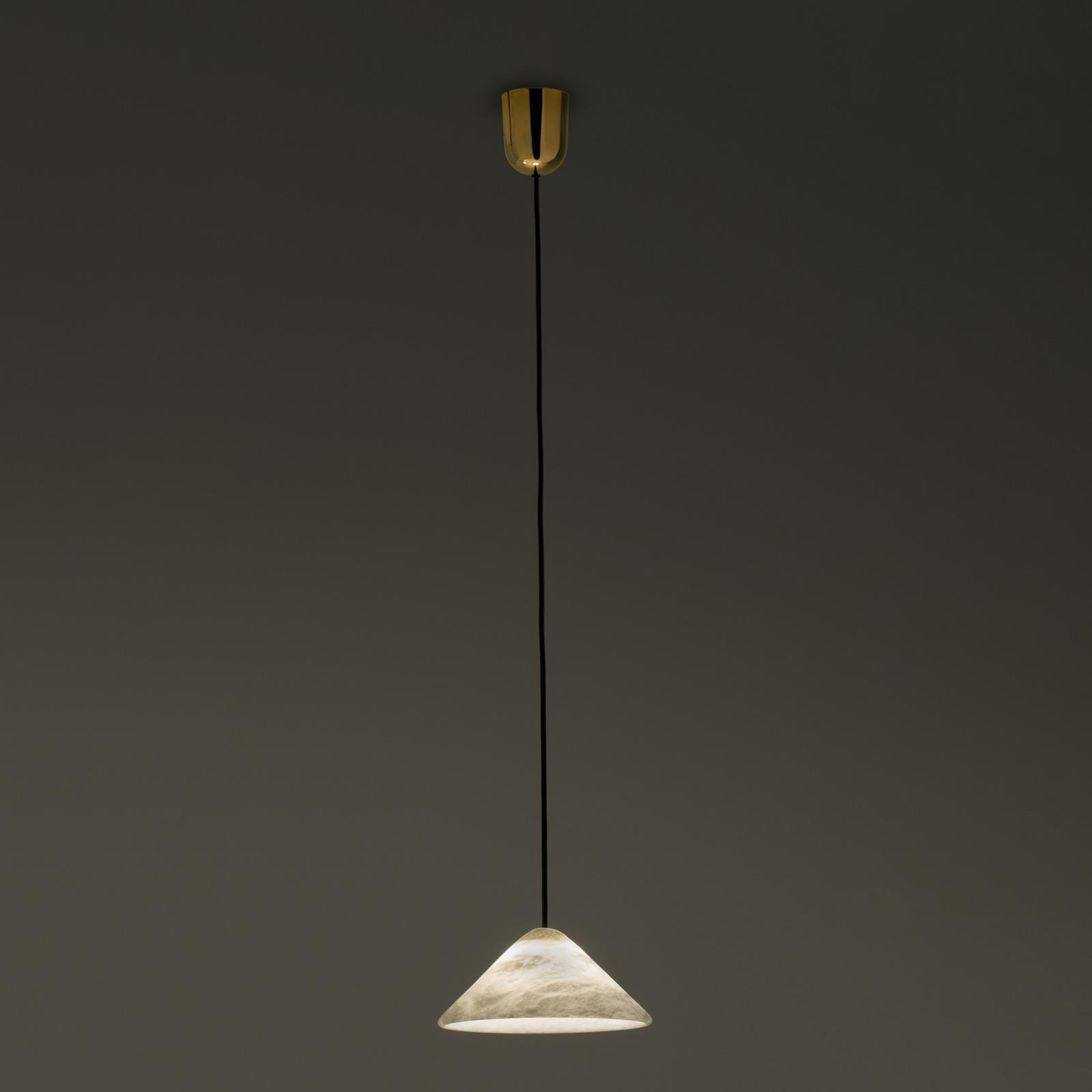 Lampa wisząca LED Fuji alabastrowa Ø 21 cm