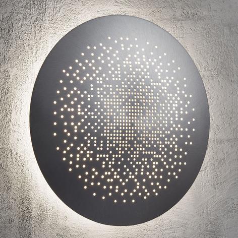 Applique a LED Hunt alluminio 26 cm