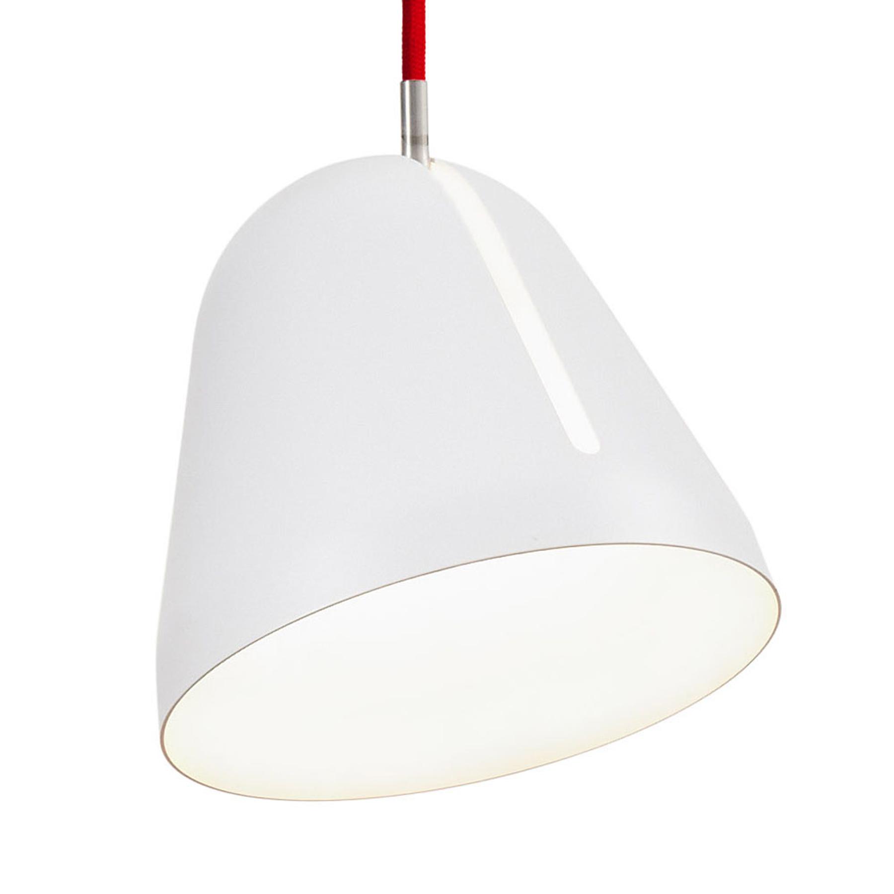 Nyta Tilt S lampa wisząca kabel 3m czerwony, biały