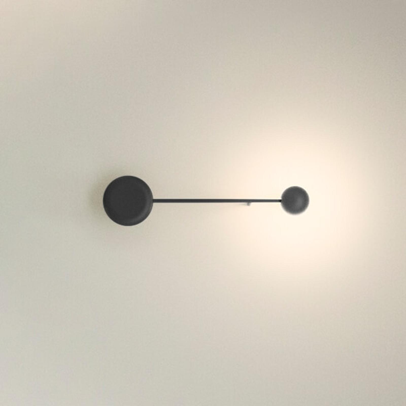 Applique LED noire Pin
