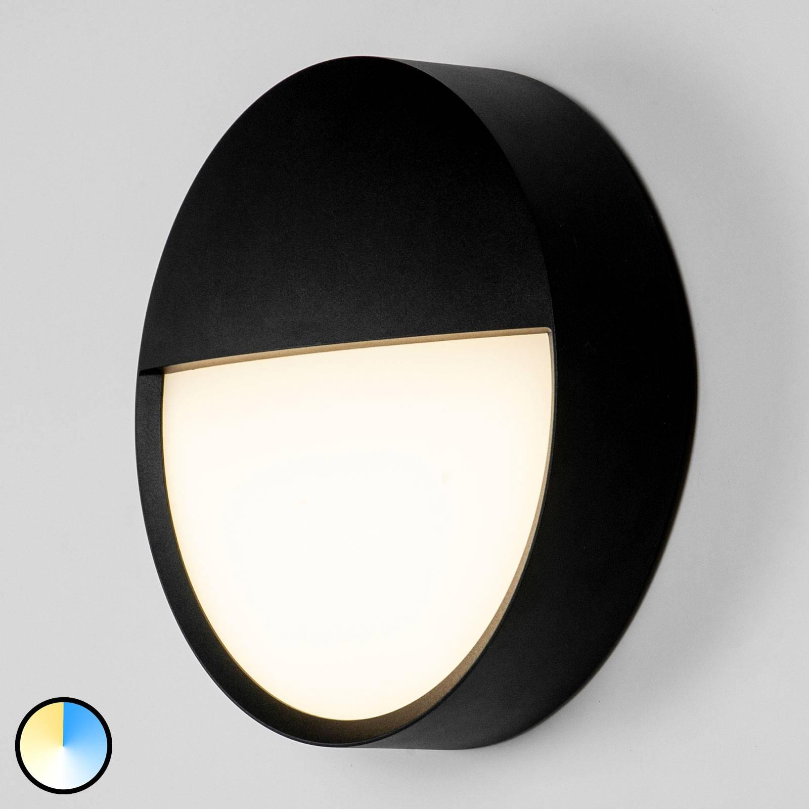 BRUMBERG Eye LED-Außenwandleuchte halb geschlossen
