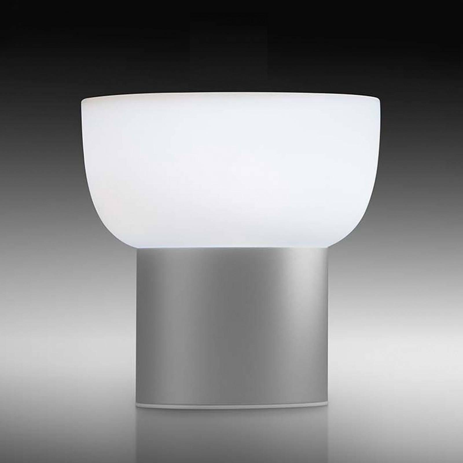 Lampada LED esterni Patio, argento, 16 cm