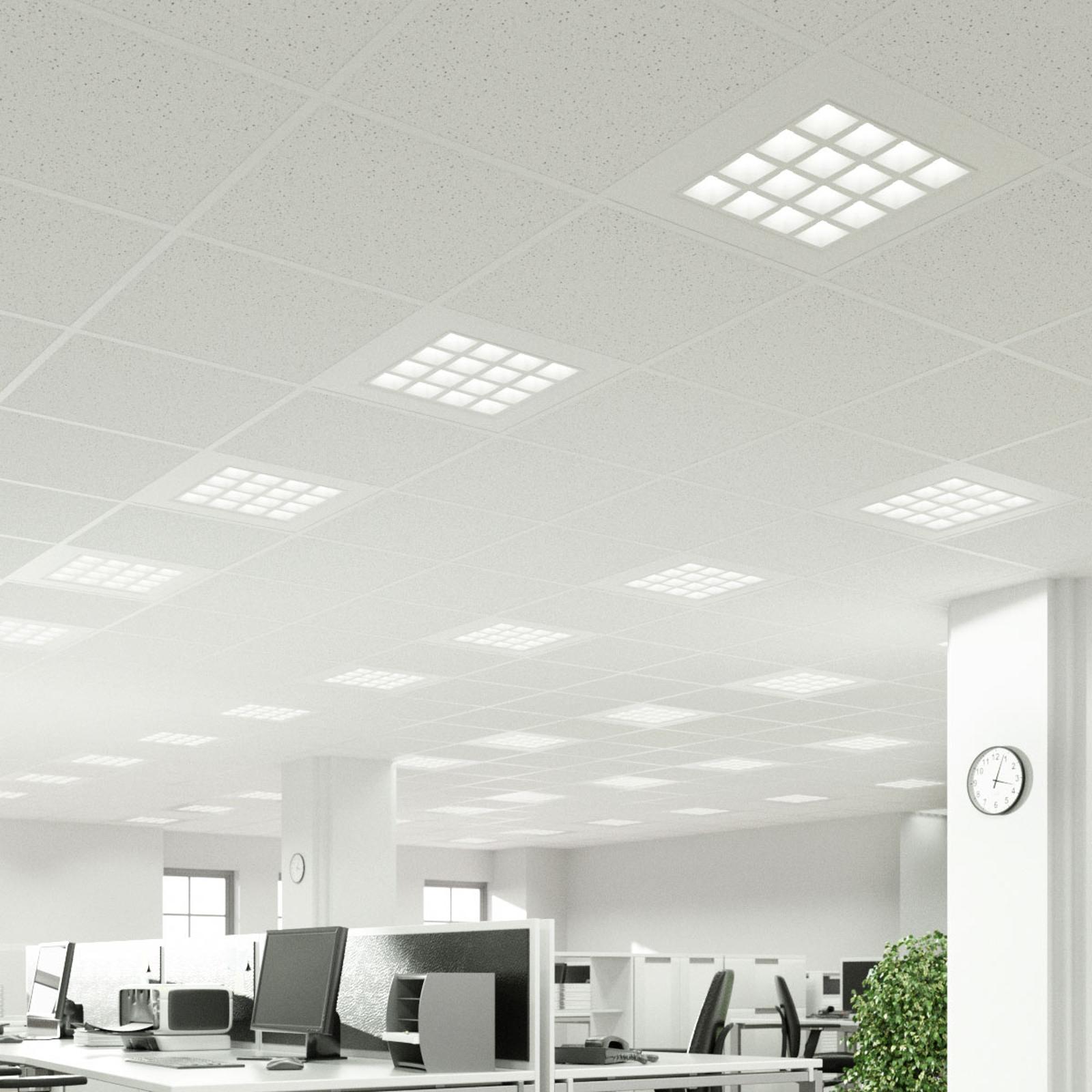 LED-indbygningspanel Merti i hvid, 4.000K