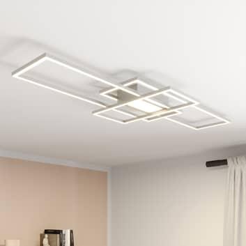 Lindby Mairin lampa sufitowa LED, nikiel matowy