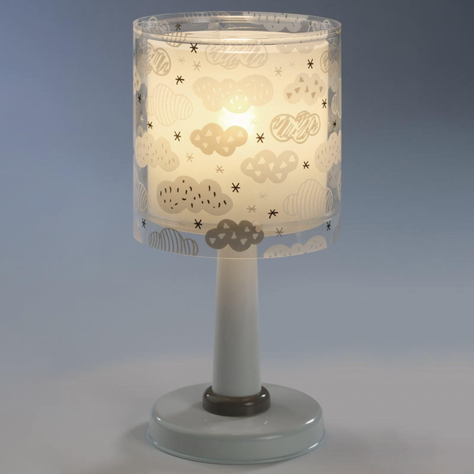 Acquista Lampada Da Tavolo Clouds Per Bambini Grigia Lampade It