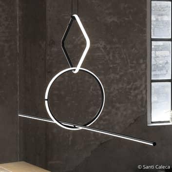 FLOS Arrangements 3 LED-hänglampa