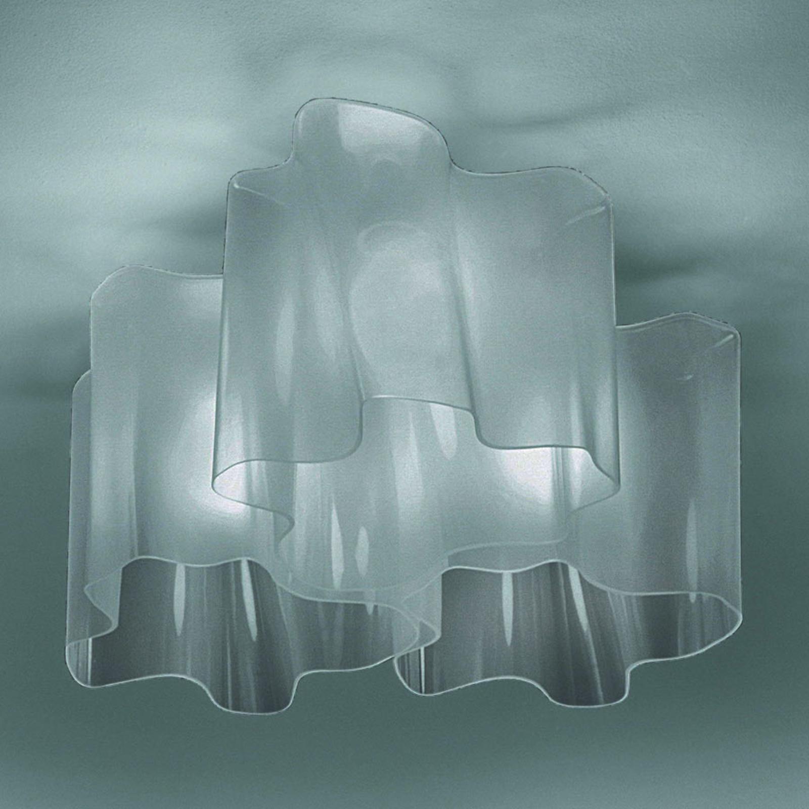 Artemide Logico Deckenlampe 3fl 120° 66x66cm grau