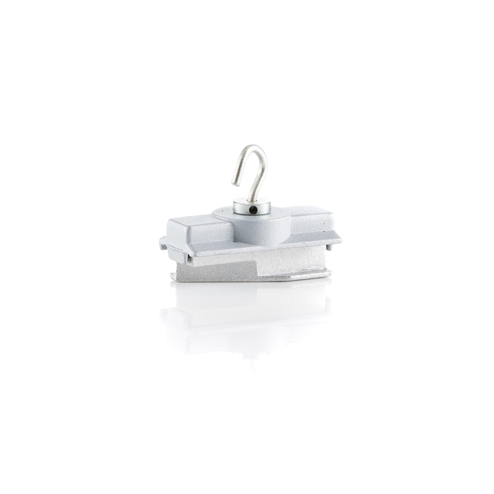 Ivela Adapter mechanisch, mit Haken, silber