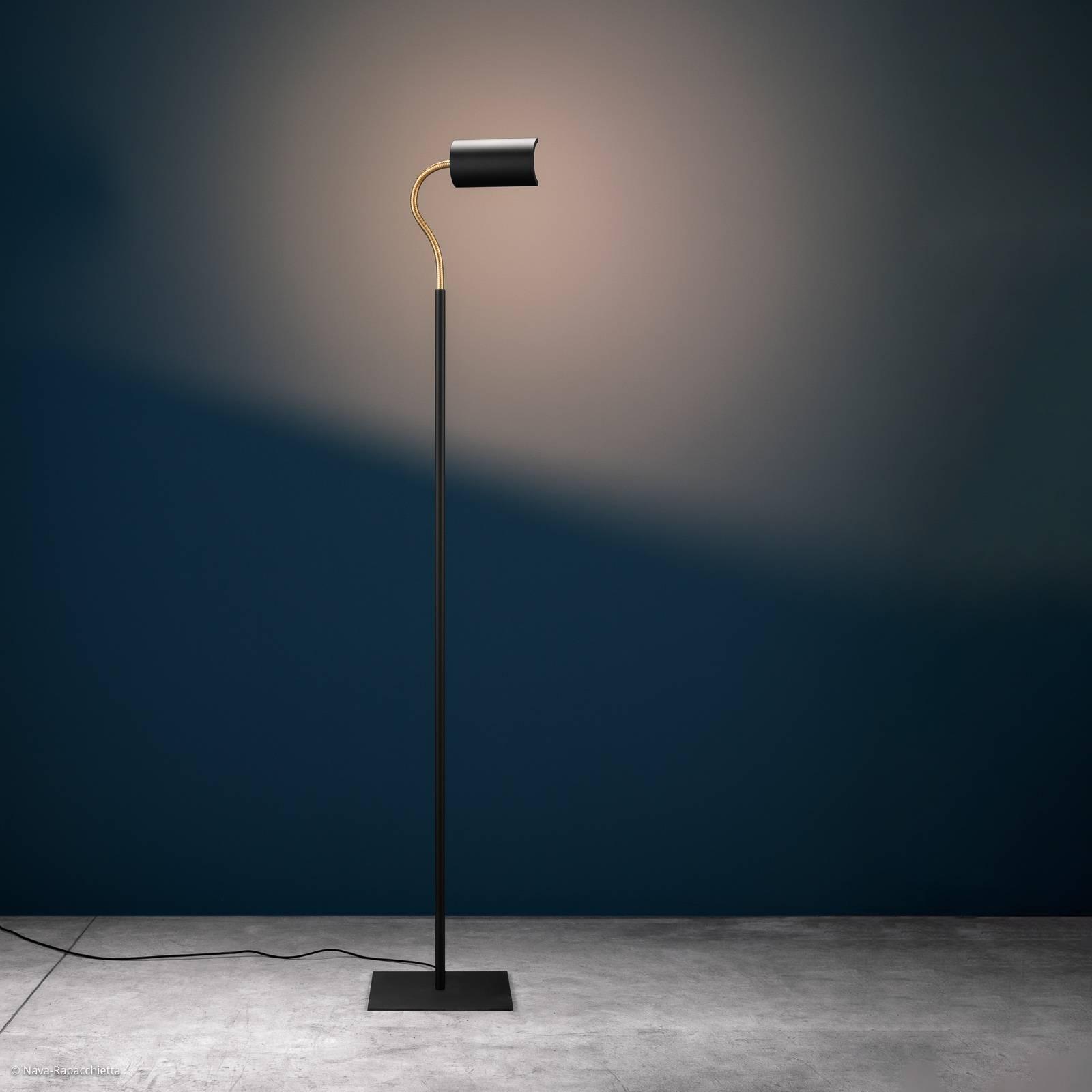 Catellani & Smith U. Flex LED-Stehleuchte schwarz