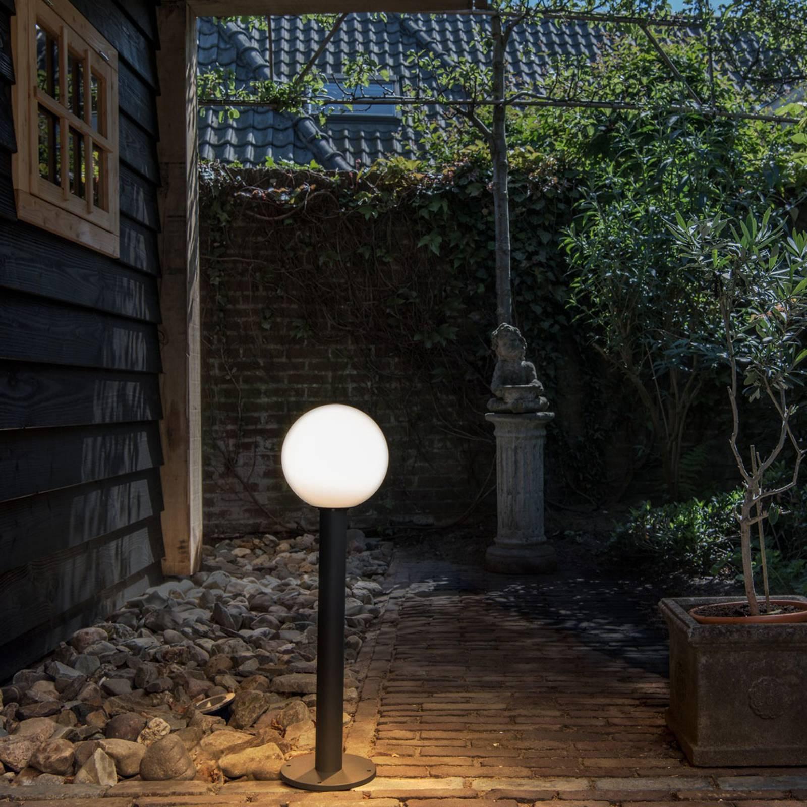 SLV Gloo Pure 70 tuinpadverlichting, hoogte 70 cm