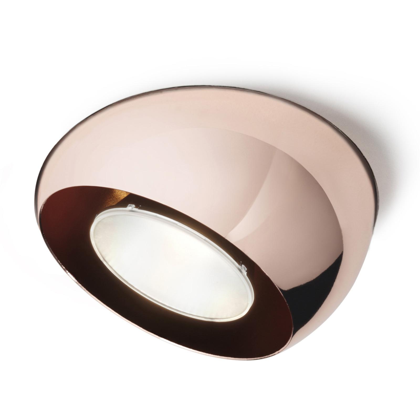 Spot encastrable LED Tools recouvert de cuivre