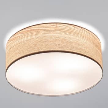 Stilig taklampe Liska i lyst tredesign.