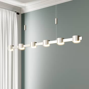 Lampada sospesa LED Niro, regol. alt., dimmerabile