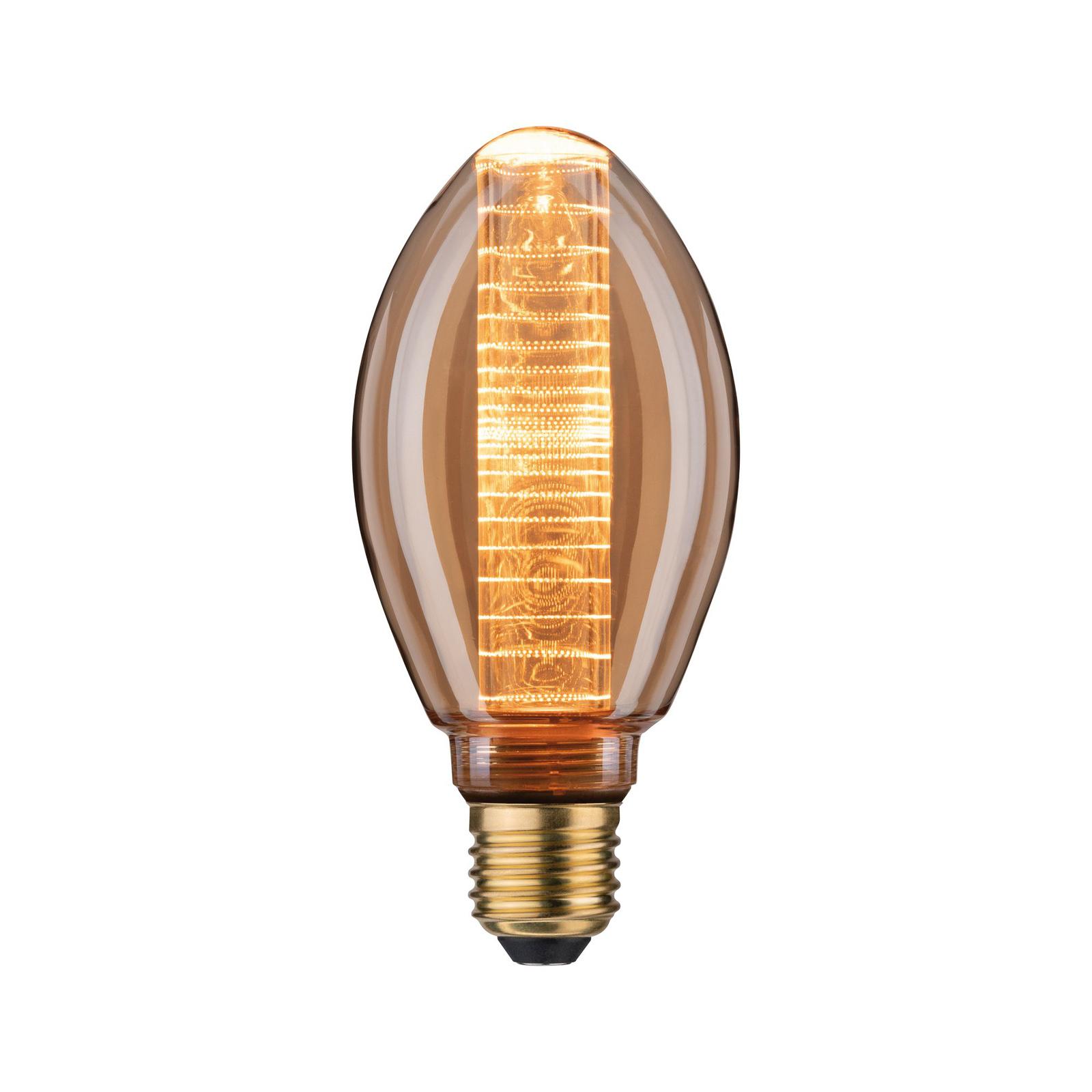 Paulmann LED vintage B75 ringmønster E27 3,6 W 818