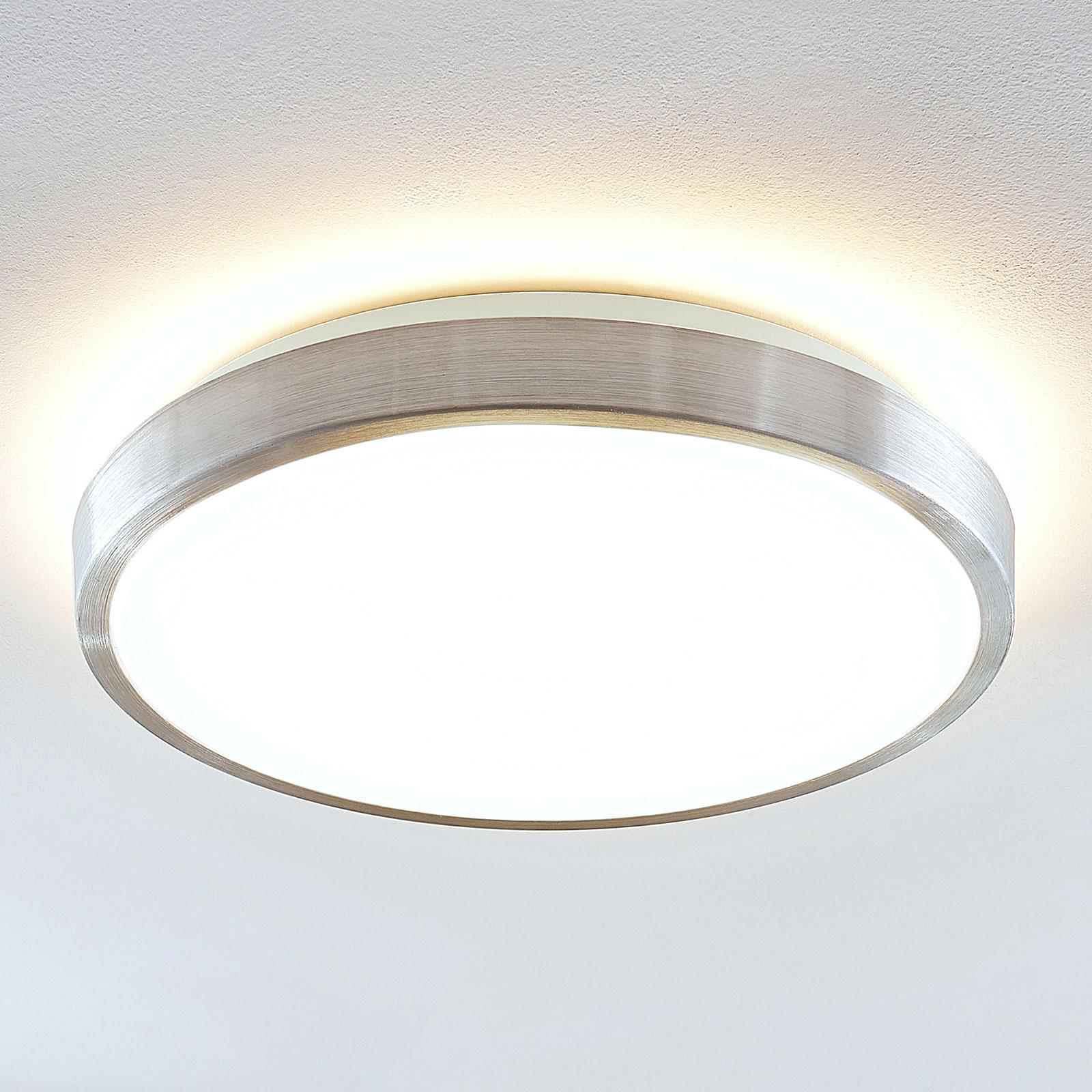 Lindby Emelie lampa sufitowa LED, okrągła, 42 cm