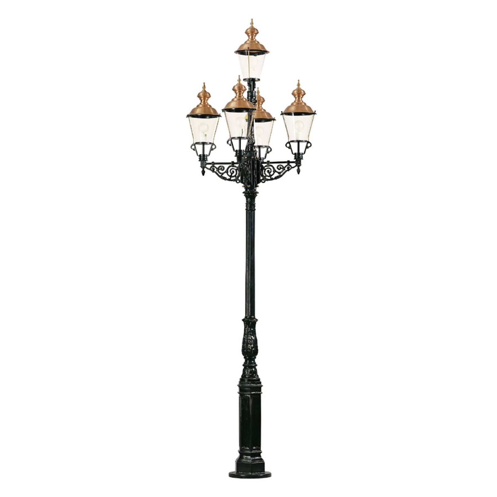 Lampione rappresentativo Monaco a 5 luci