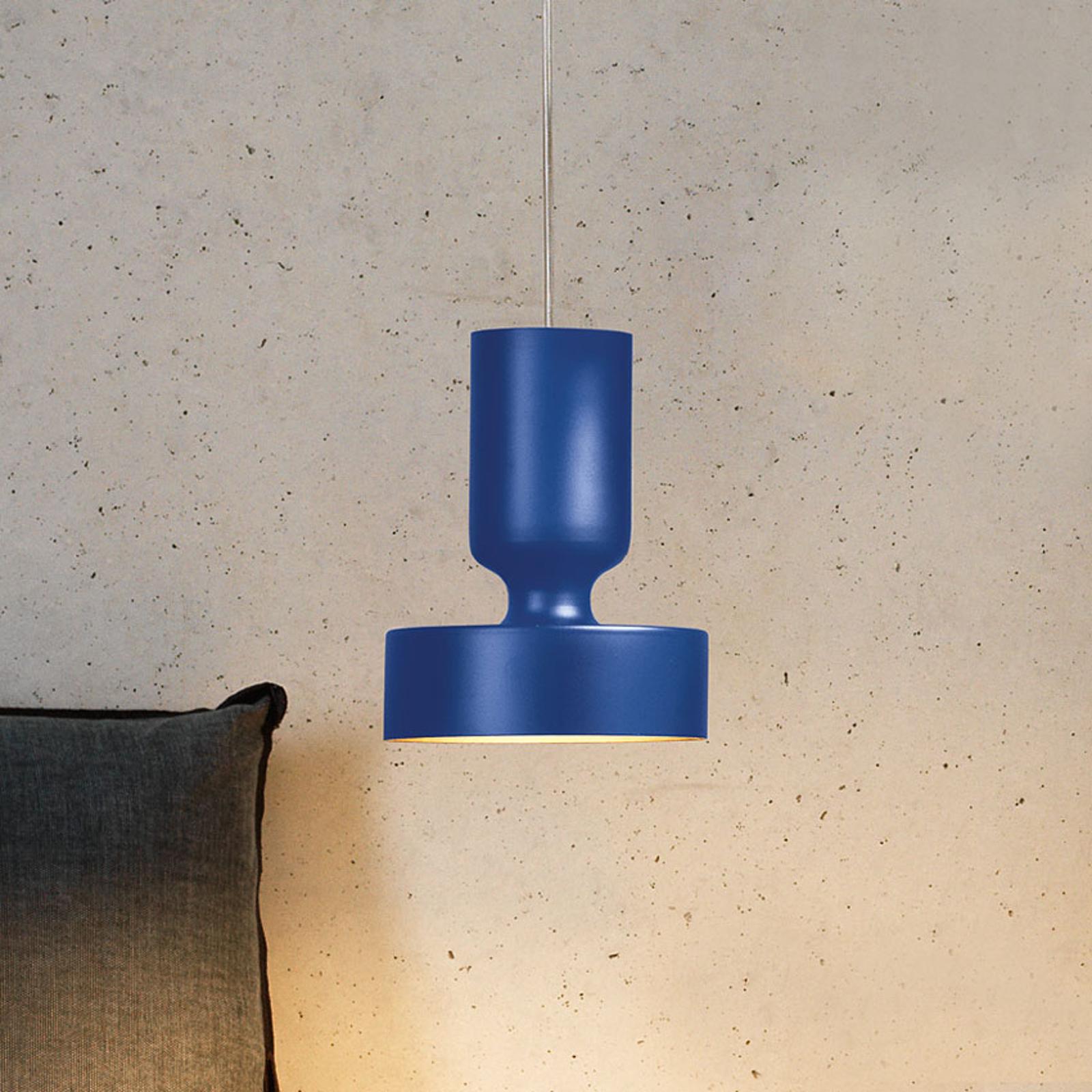 Modo Luce Hammer lampada sospensione Ø 15 cm blu
