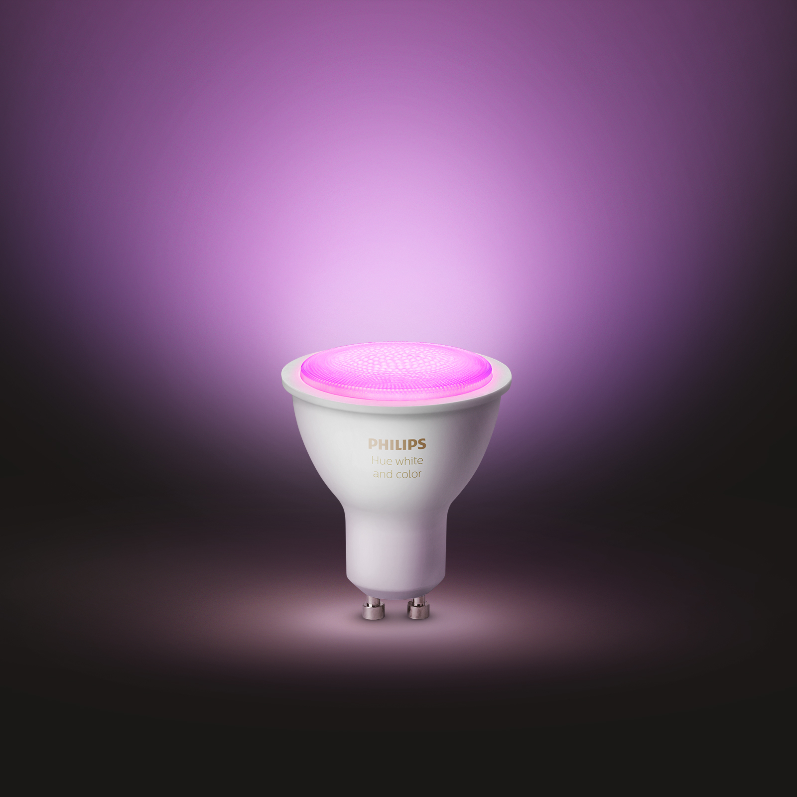 Philips Hue White & Color Ambiance 5,7W GU10, 2er