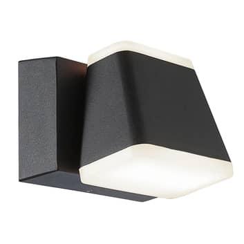 LED-Außenwandleuchte Atlas, schwenkbar, eckig