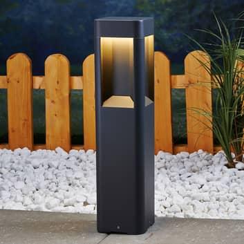 Lampioncino LED Annika in alluminio, 50 cm