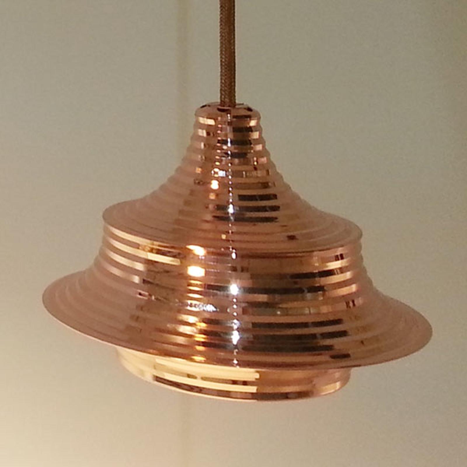 Bover Tibeta 02 - LED hanglamp, koper