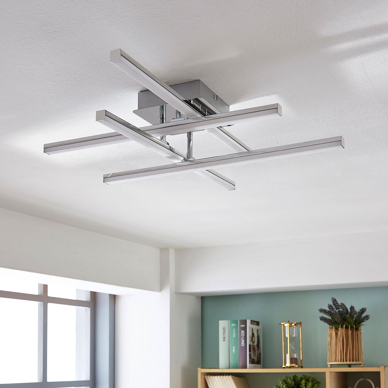 Plafonnier LED réglable Korona, dimmable