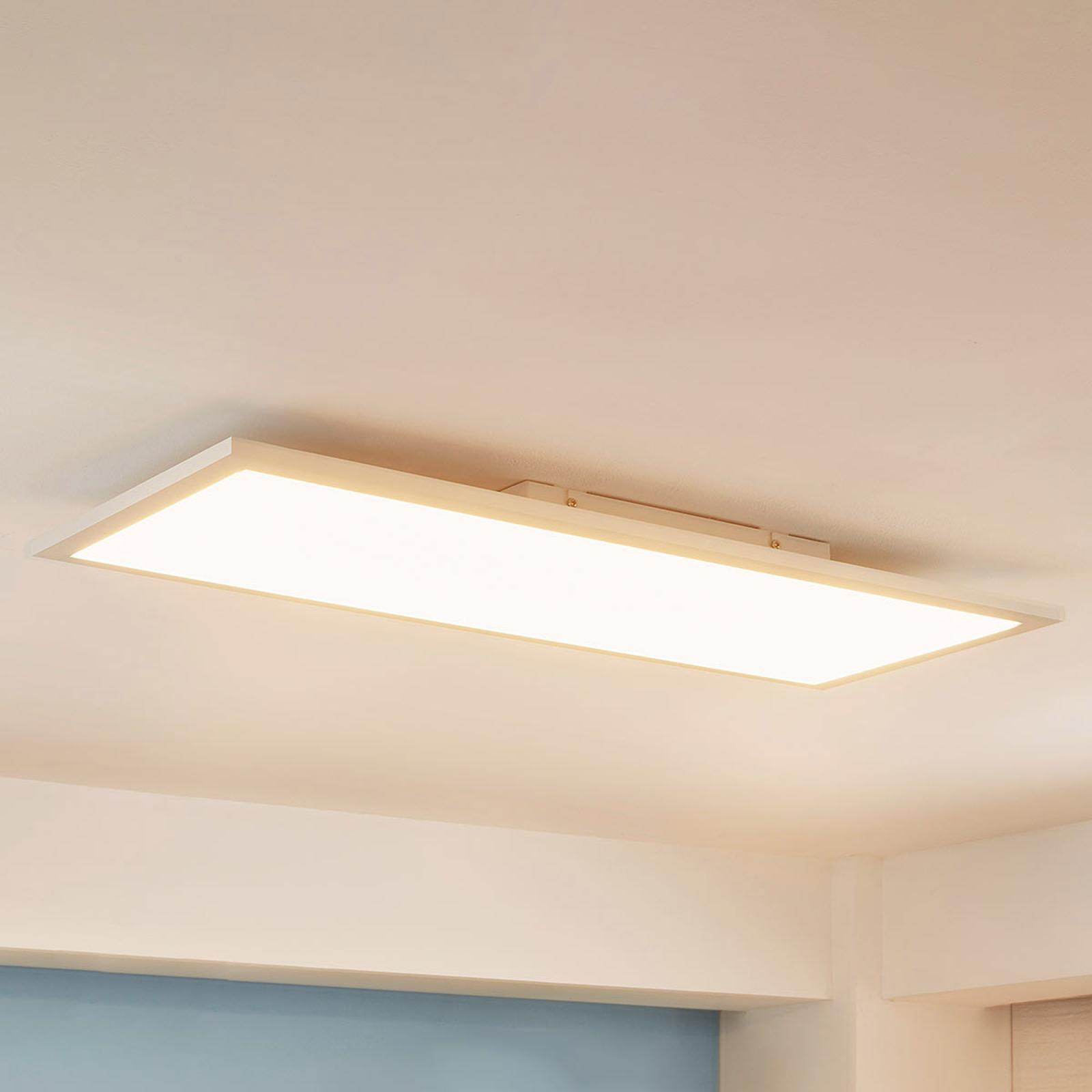 Avlangt LED-panel Enja, 30 x 80 cm