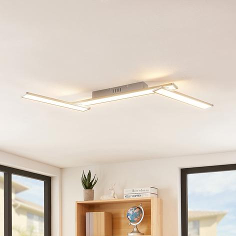 Lindby Smart Ibbe -LED-kattovalaisin, 3-lamppuinen