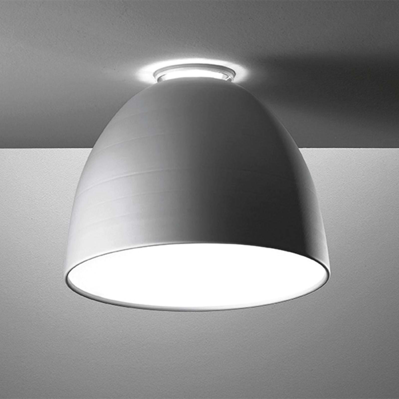 Artemide Nur Mini LED-Deckenleuchte aluminium