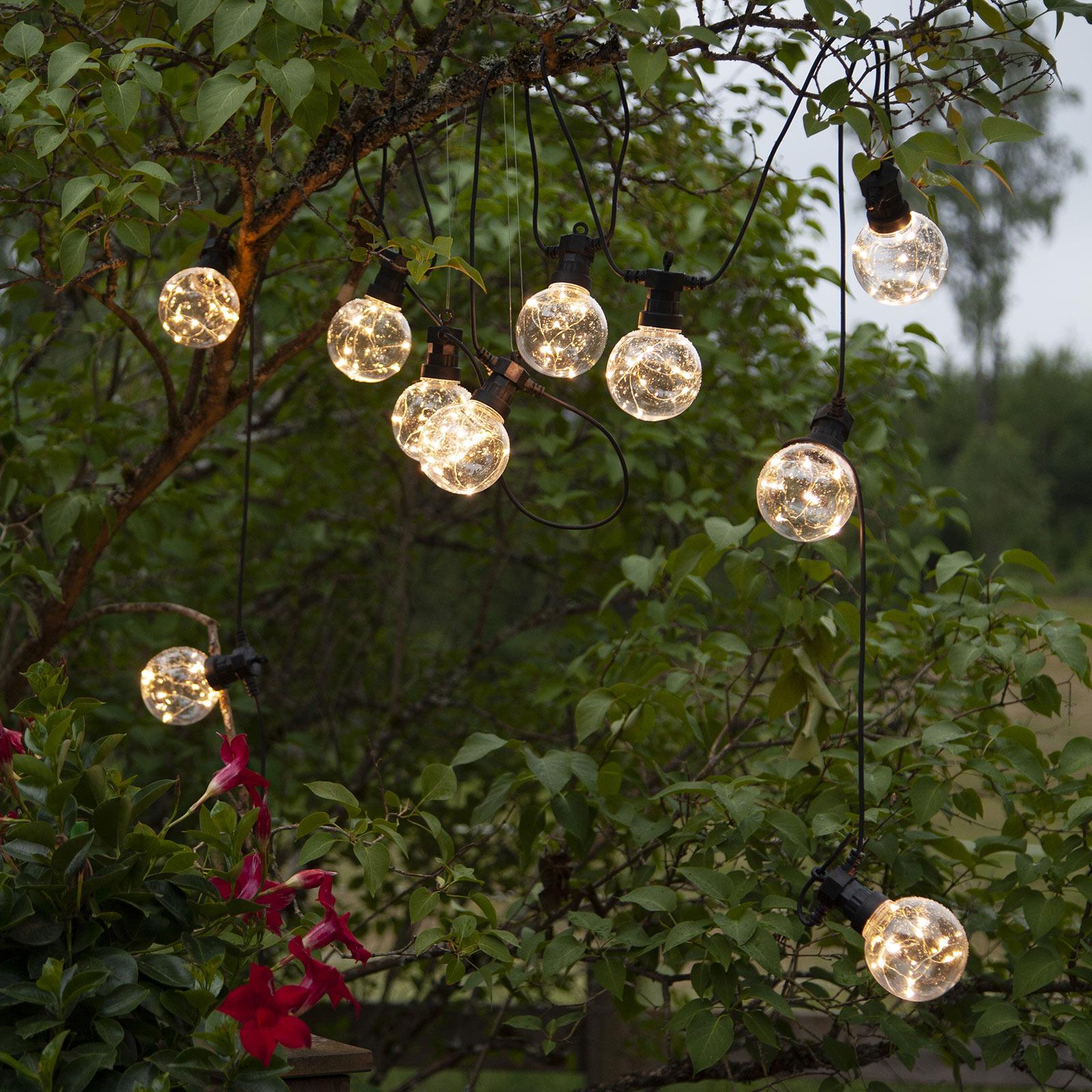 LED-lyskæde Big Circus, Dew Drops