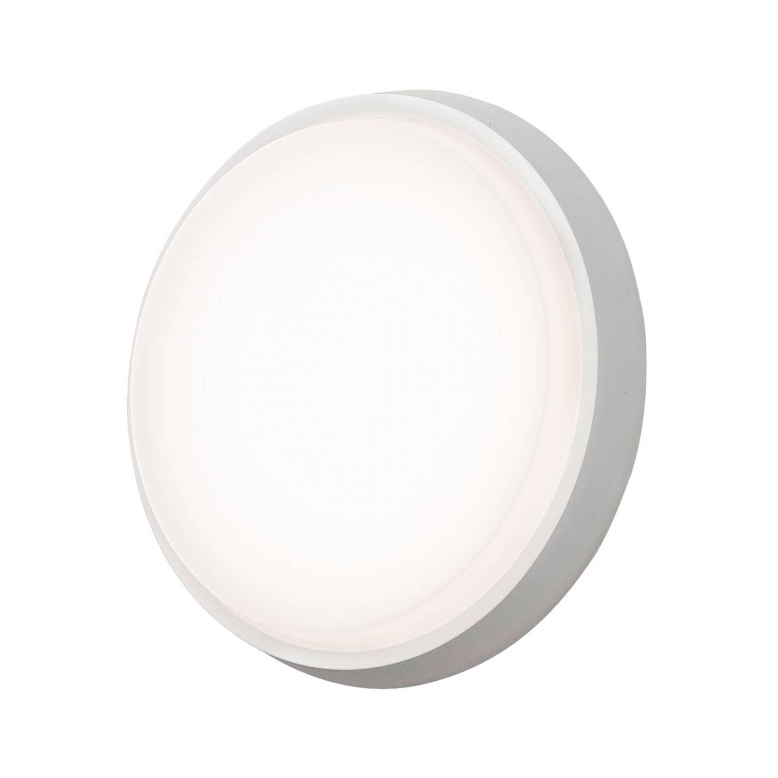 LED buitenwandlamp Cesena, rond