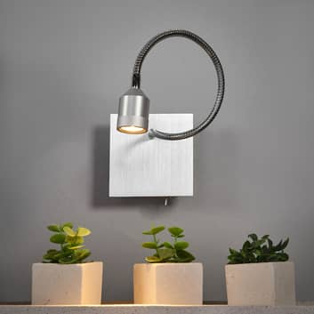Funktionale LED-Wandleuchte Lovi mit Flexarm