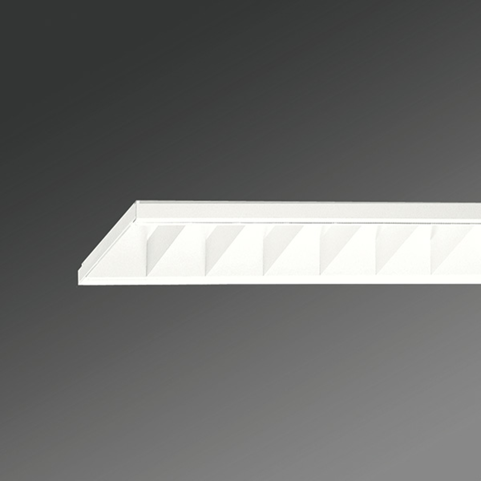 Plafondlamp RMEP met rooster, 58W
