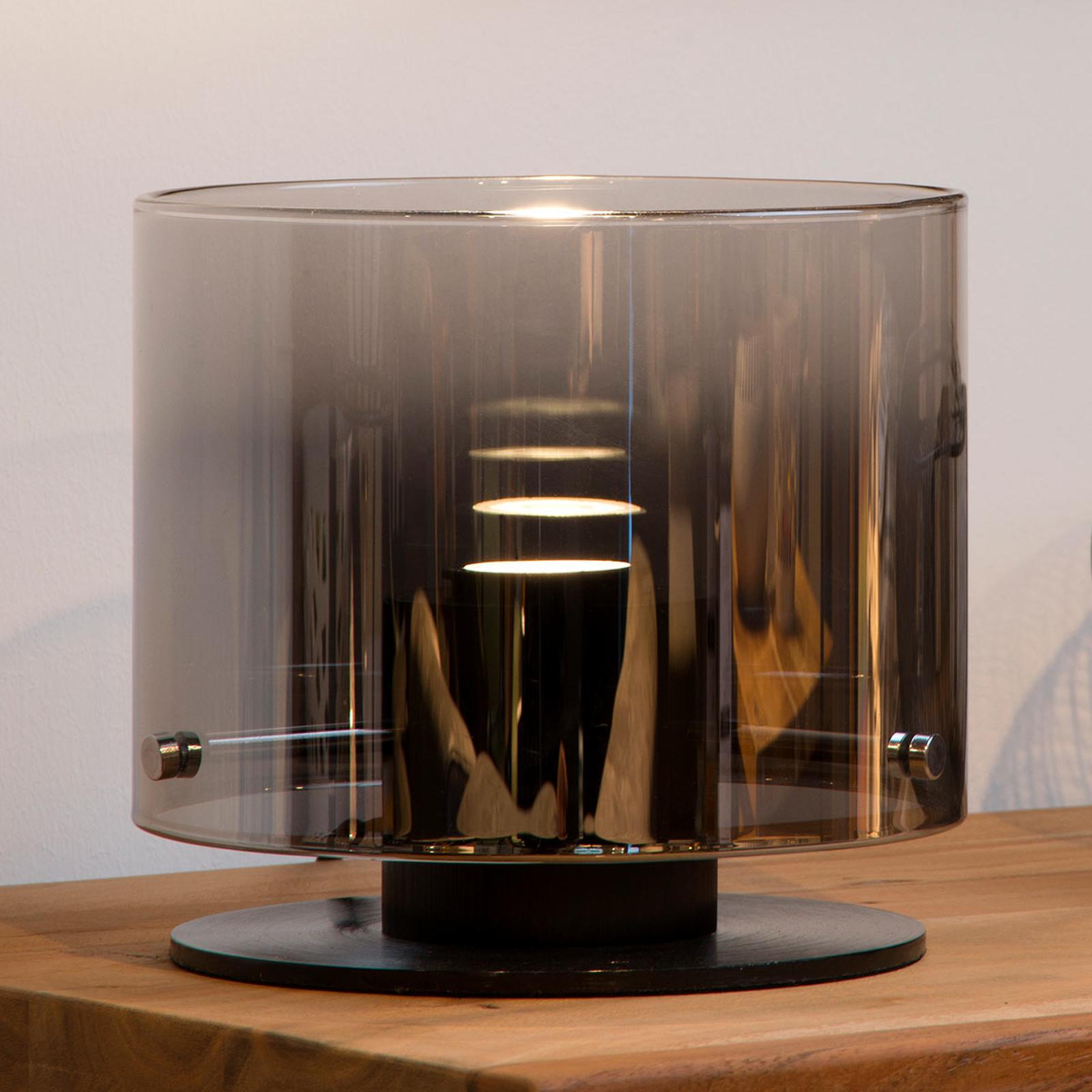 LED tafellamp Owino met spiegeleffect