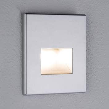 Paulmann LED-seinäuppovalaisin Edge, kromi matta