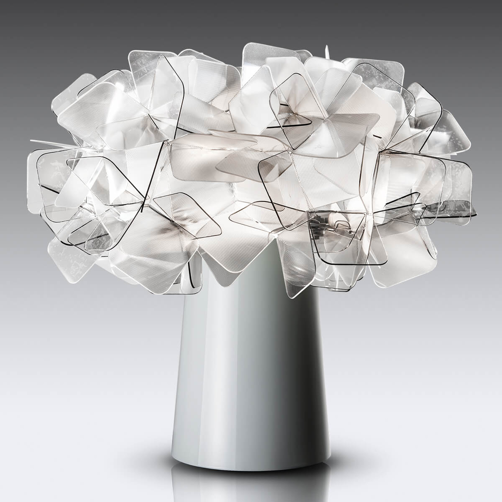 Slamp Clizia - lampe à poser, gris fumée