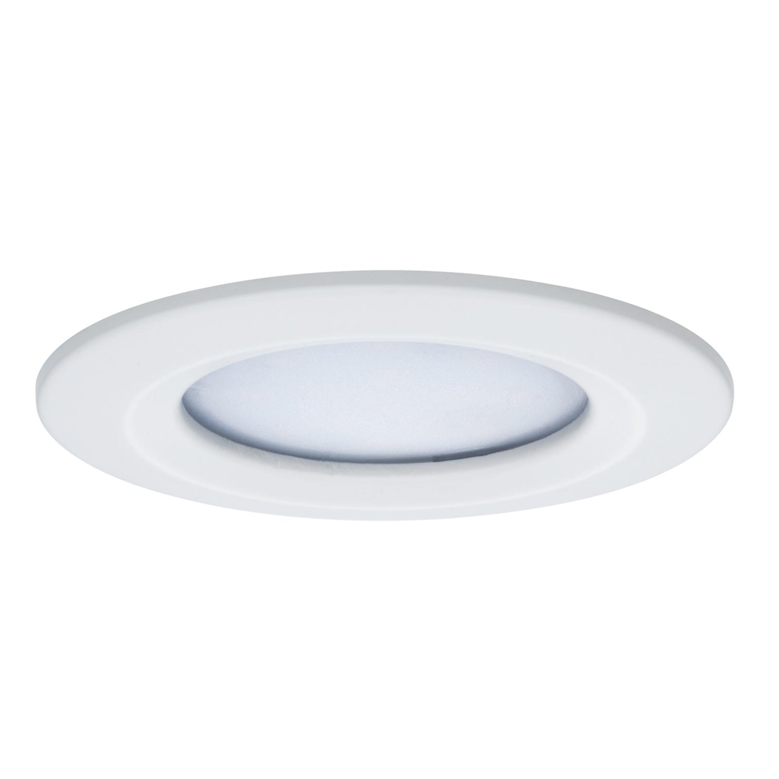 Paulmann Coin Slim downlight LED rotondo, IP44