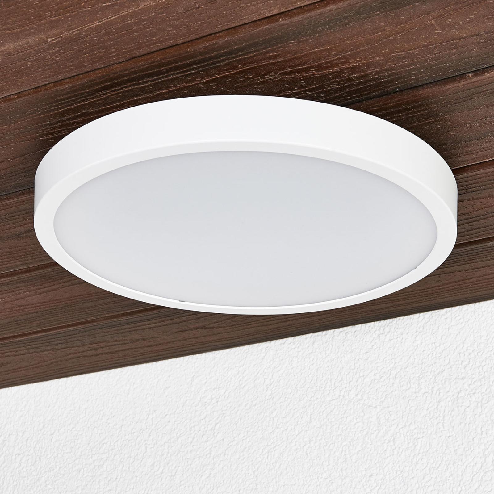 Runde LED-Deckenlampe Liyan in Weiß