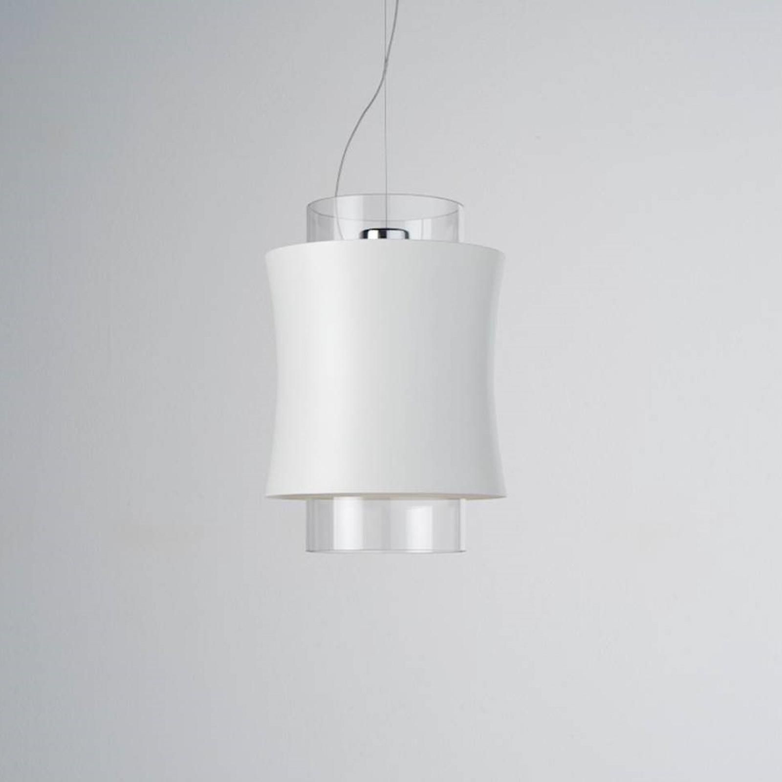 Prandina Fez S1 hanglamp mat wit