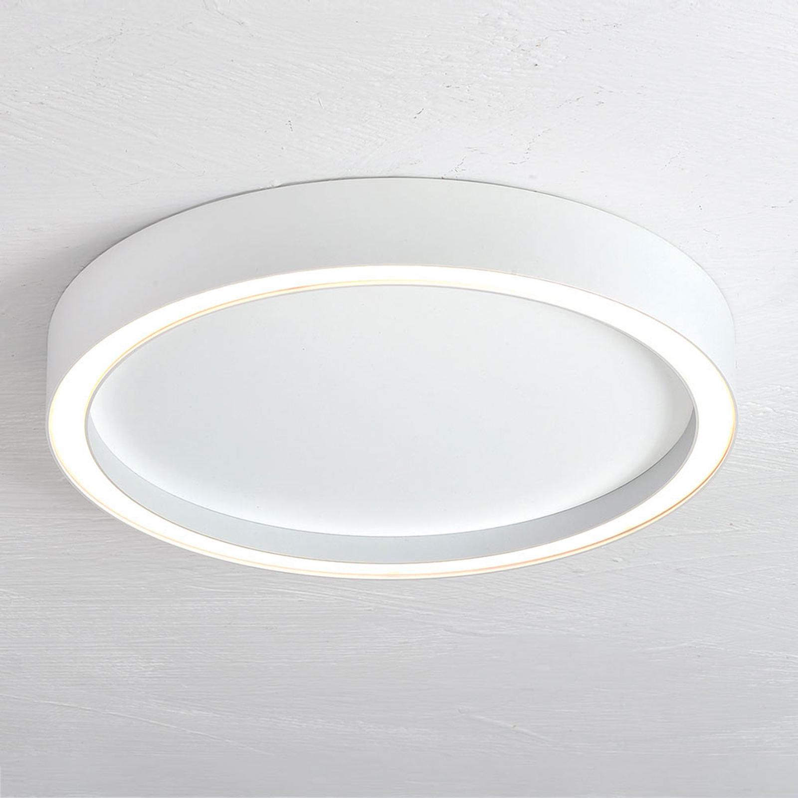 Bopp Aura LED plafondlamp Ø 30cm wit/wit