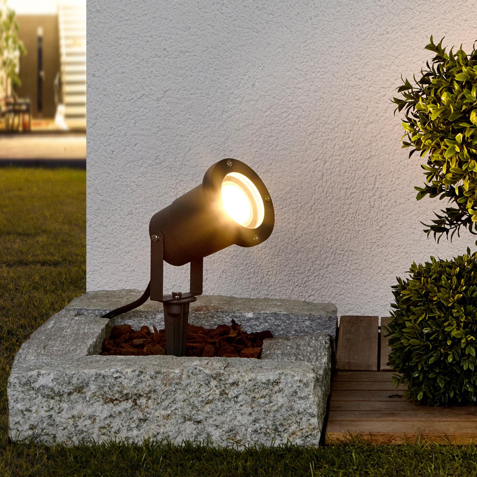 Regulowany reflektor z grotem ziemnym Tomislav