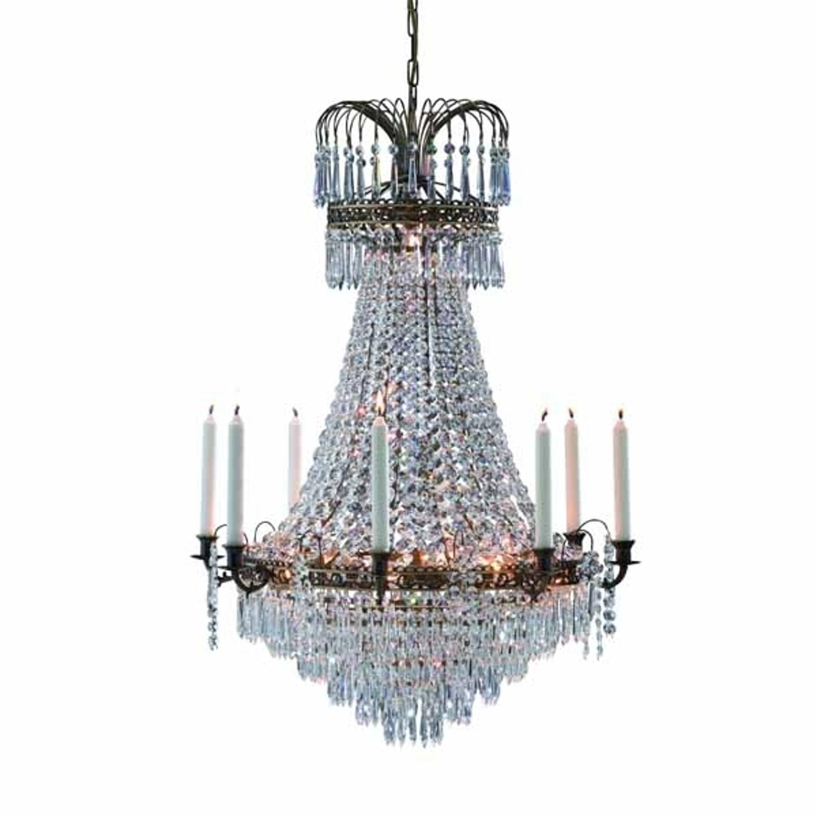 Präktig ljus-lampkrona Lacko 66 cm