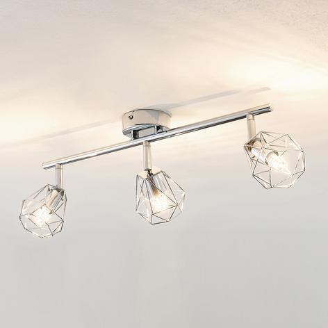 Lindby Giada faretto LED a tre luci