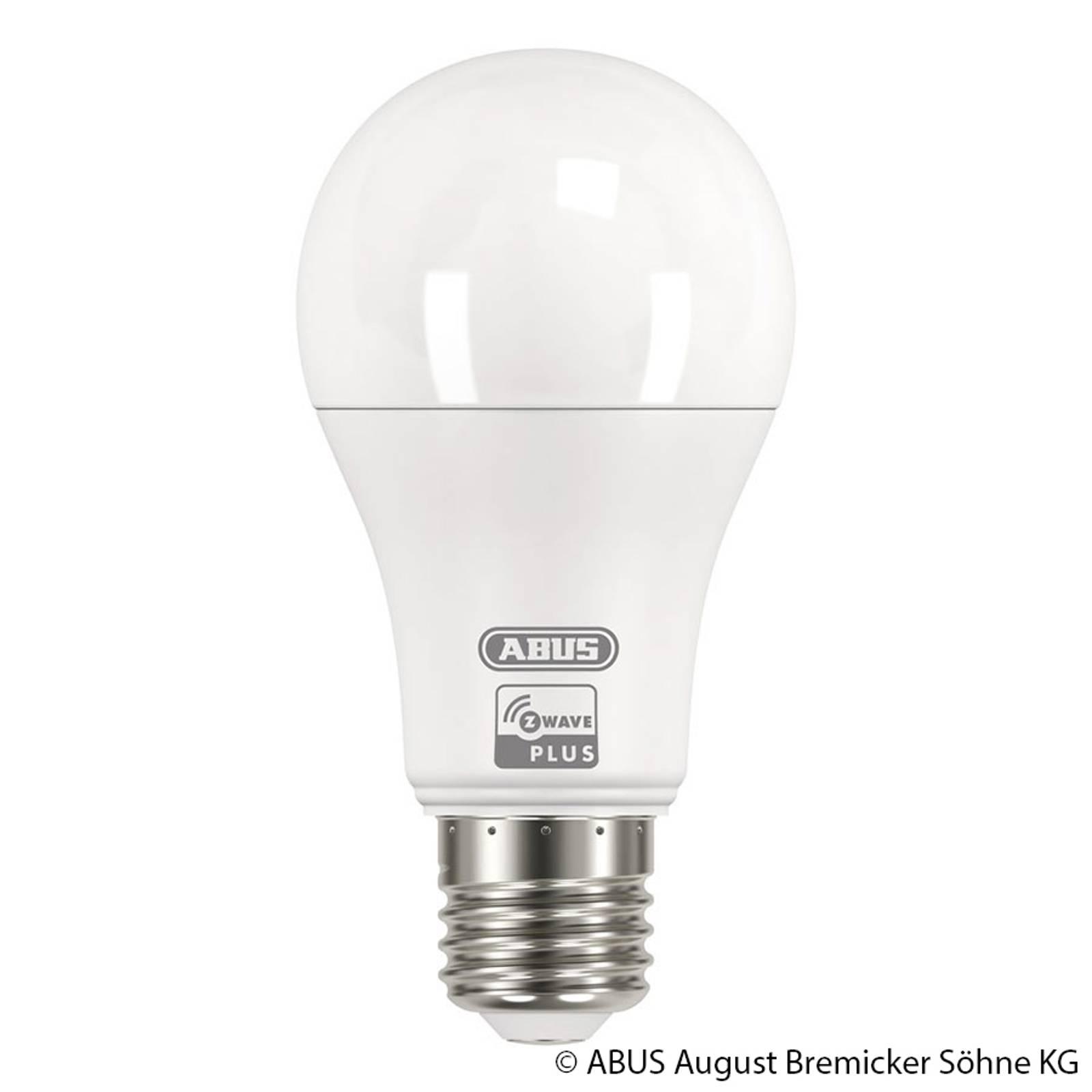 ABUS Z-Wave E27 9 W LED-Lampe, warmweiß