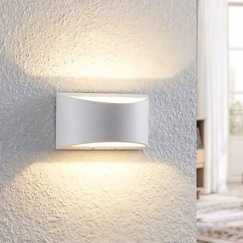 Arcchio Jasina LED wandlamp, halfrond, wit