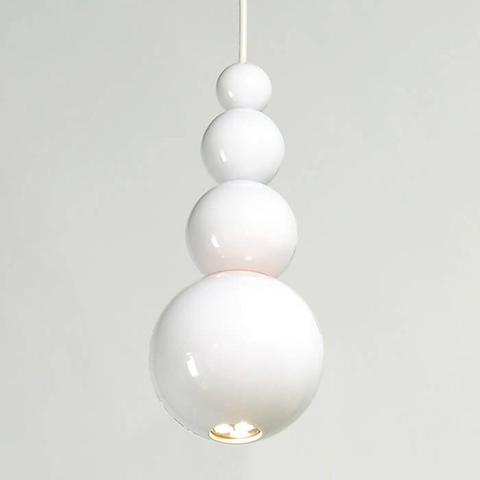 Innermost Bubble - hængelampe i hvid