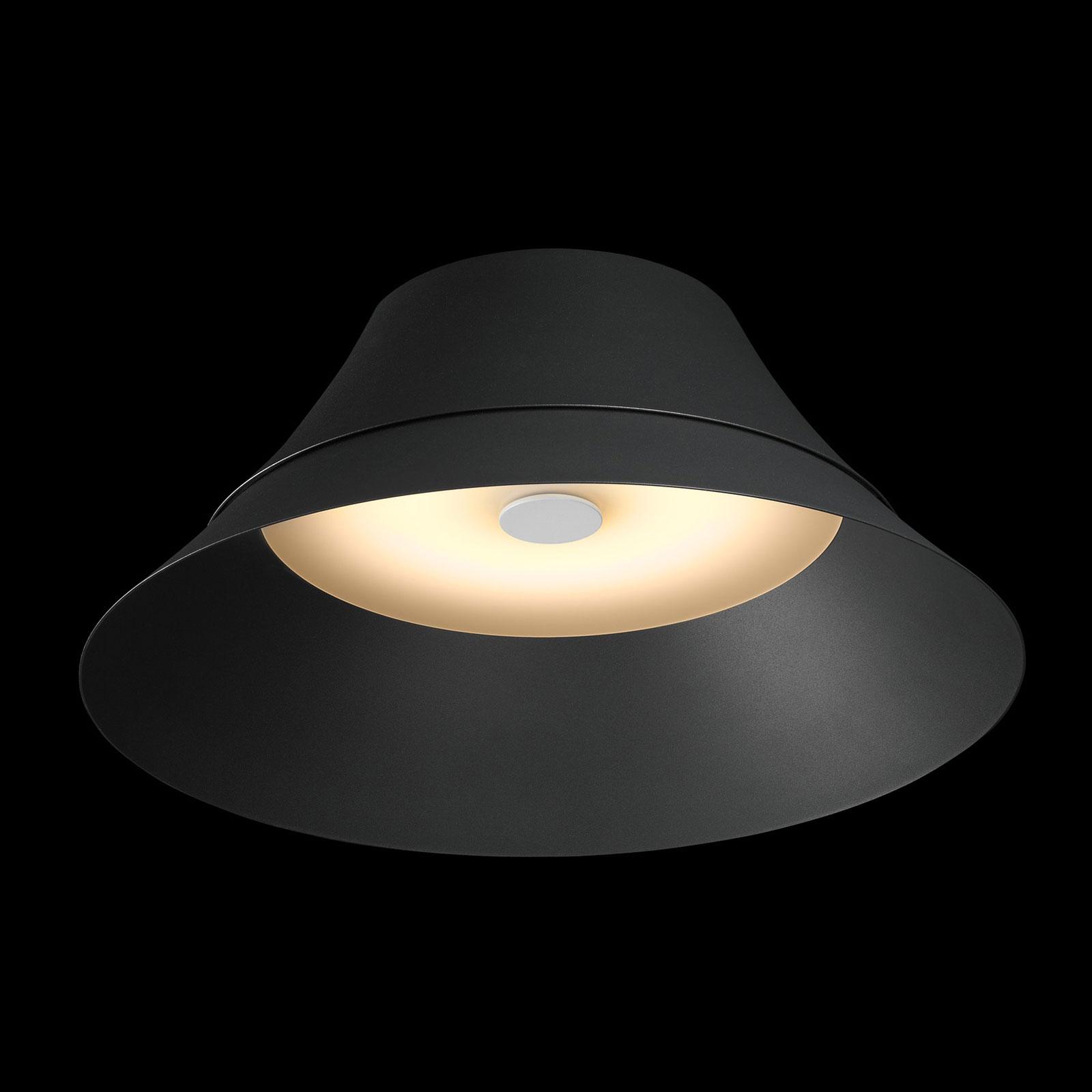 SLV Bato 45 LED-Deckenleuchte schwarz