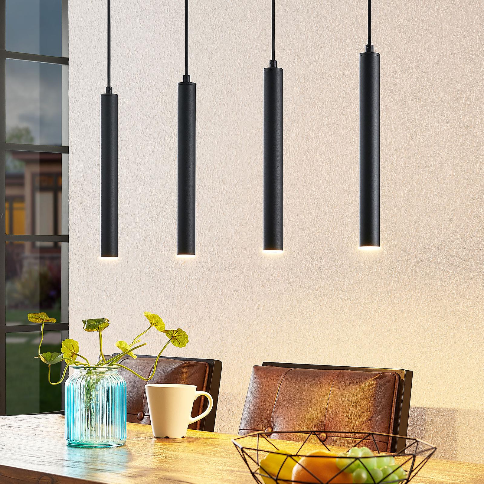 Arcchio Kammeron LED-hængelampe, sort